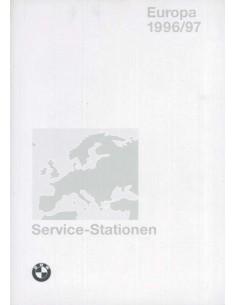 1996/1997 BMW SERVICE HÄNDLER VERZEICHNIS EUROPA HANDBUCH