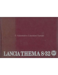 1989 LANCIA THEMA 8.32 OWNER'S MANUAL GERMAN