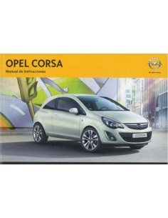 2013 OPEL CORSA OWNERS MANUAL SPANISH