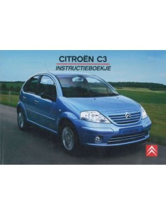 2005 CITROEN C3 OWNERS MANUAL DUTCH