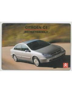 2003 CITROEN C5 OWNER'S MANUAL DUTCH