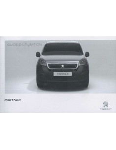 2015 PEUGEOT PARTNER OWNERS MANUAL FRENCH