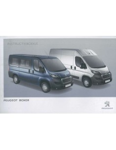 2015 PEUGEOT BOXER OWNERS MANUAL DUTCH