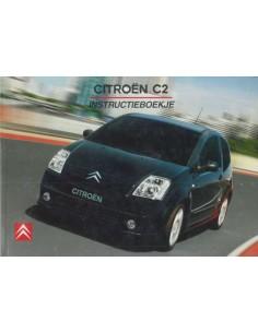 2004 CITROEN C2 OWNER'S MANUAL DUTCH