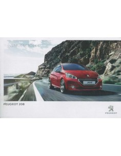 2014 PEUGEOT 208 OWNERS MANUAL DUTCH