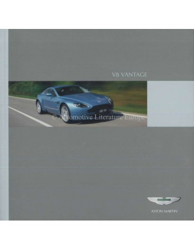 2006 ASTON MARTIN V8 VANTAGE BROCHURE ENGLISH