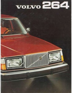 1975 VOLVO 264 BROCHURE DUTCH