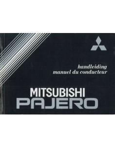 1988 MITSUBISHI PAJERO BETRIEBSANLEITUNG NIEDERLANDISCH FRANZÖSISCH