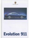 1998 PORSCHE 911 CARRERA HARDCOVER BROCHURE GERMAN