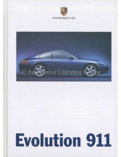 1998 PORSCHE 911 CARRERA HARDCOVER PROSPEKT DEUTSCH