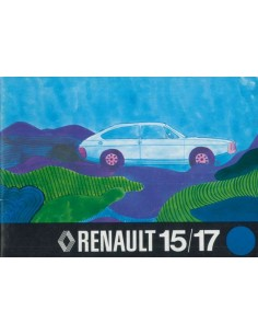 1973 RENAULT 15 & 17 OWNERS MANUAL DUTCH