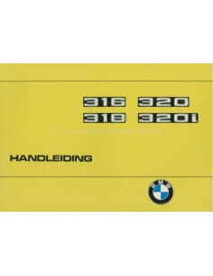 1975 BMW 3 SERIES OWNERS MANUAL DUTCH