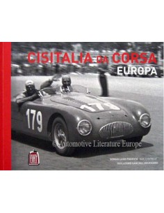 CISITALIA DA CORSA EUROPA - SERGIO LUGO PODESTÁ LIMITED EDITION BOOK