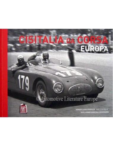 CISITALIA DA CORSA EUROPA - SERGIO LUGO PODESTÁ BOOK