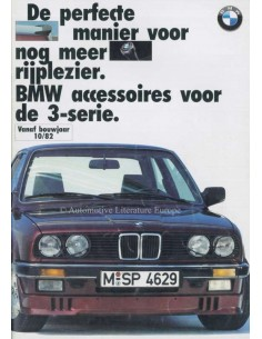 1987 BMW 3 SERIES ACCESSORIES BROCHURE DUTCH