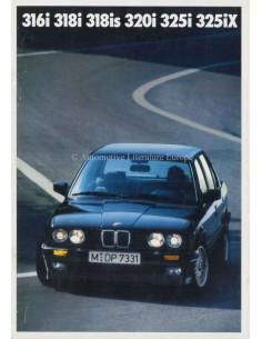 1990 BMW 3 SERIES SALOON BROCHURE DUTCH