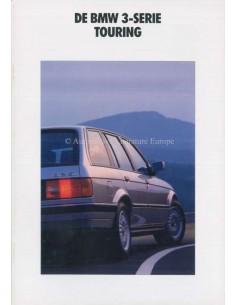 1990 BMW 3 SERIES TOURING BROCHURE DUTCH