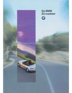 1995 BMW Z3 ROADSTER BROCHURE DUTCH