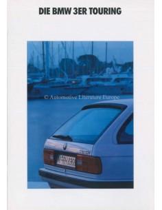 1992 BMW 3 SERIES TOURING BROCHURE GERMAN