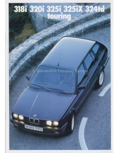 1990 BMW 3ER TOURING BROCHURE DEUTSCH