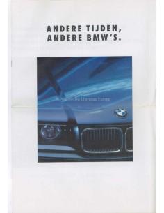 1990 BMW 3ER LIMOUSINE PROSPEKT NIEDERLÄNDISCH