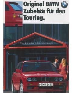 1989 BMW 3 SERIES TOURING ACCESSORIES BROCHURE GERMAN