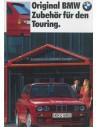 1989 BMW 3 SERIE TOURING ACCESSOIRES BROCHURE DUITS