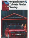 1989 BMW 3 SERIES TOURING ACCESSORIES BROCHURE GERMAN