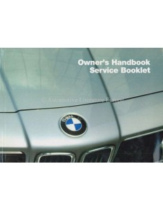 1985 BMW 6 SERIES OWNERS MANUAL ENGLISH