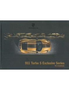 2018 PORSCHE 911 TURBO S EXCLUSIVE SERIES HARDCOVER BROCHURE ENGLISH