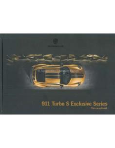 2018 PORSCHE 911 TURBO S EXCLUSIVE SERIES HARDCOVER BROCHURE ENGLISH