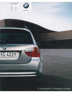 2005 BMW 3 SERIES TOURING BROCHURE DUTCH