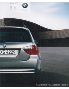 2005 BMW 3ER TOURING PROSPEKT NIEDERLÄNDISCH