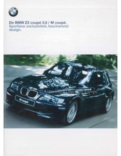 1999 BMW Z3 M COUPE BROCHURE DUTCH