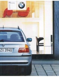2001 BMW 3 SERIES TOURING BROCHURE DUTCH