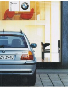 2003 BMW 3 SERIES TOURING BROCHURE DUTCH