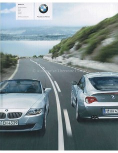 2007 BMW Z4 ROADSTER & COUPE BROCHURE GERMAN