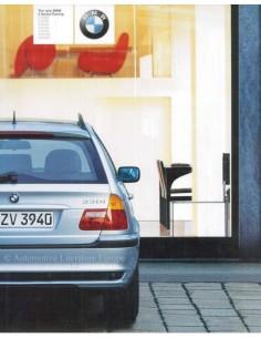 2002 BMW 3ER LIMOUSINE PROSPEKT ENGLISCH