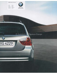 2008 BMW 3 SERIES TOURING BROCHURE DUTCH