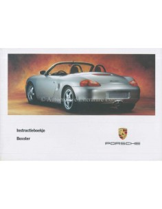1997 PORSCHE BOXSTER OWNERS MANUAL DUTCH