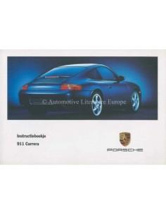 1998 PORSCHE 911 CARRERA OWNERS MANUAL DUTCH