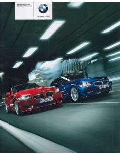2007 BMW Z4 ROADSTER M & COUPE M BROCHURE GERMAN