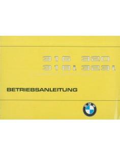 1980 BMW 3 SERIES OWNERS MANUAL GERMAN