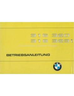 1979 BMW 3ER BETRIEBSANLEITUNG DEUTSCH