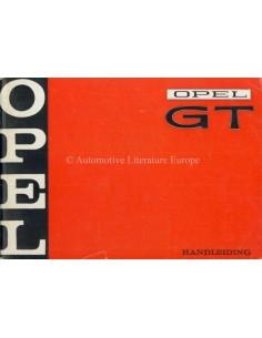 1969 OPEL GT INSTRUCTIEBOEKJE NEDERLANDS