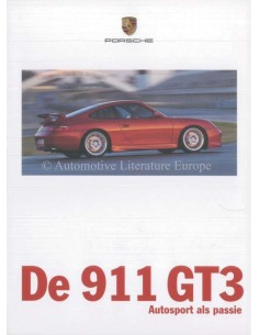 1999 PORSCHE 911 GT3 BROCHURE DUTCH