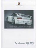 2006 PORSCHE 911 GT3 HARDBACK BROCHURE DUTCH