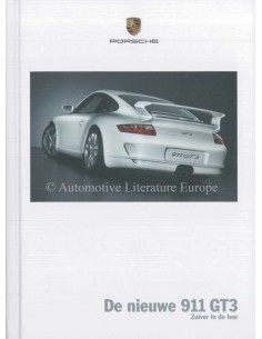 2006 PORSCHE 911 GT3 HARDBACK BROCHURE DUTCH