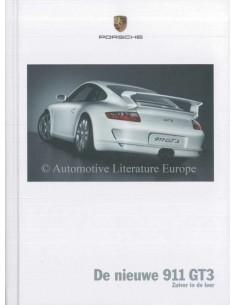 2006 PORSCHE 911 GT3 HARDCOVER PROSPEKT NIEDERLÄNDISCH