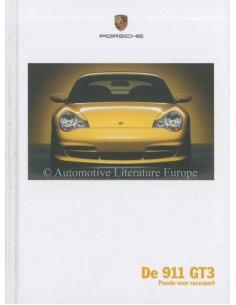 2005 PORSCHE 911 GT3 HARDCOVER PROSPEKT NIEDERLÄNDISCH